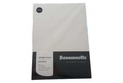 Bonnanotte jersey elastan hoeslaken cremé