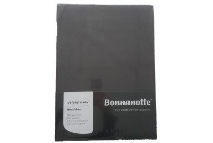 Bonnanotte jersey elastan hoeslaken donker grijs