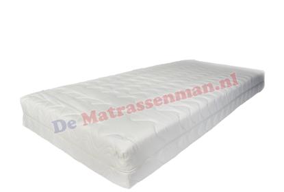 Pocketvering 300 koudschuim matras maatwerk met punt